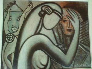 mujeres grises Camilo Barrocal