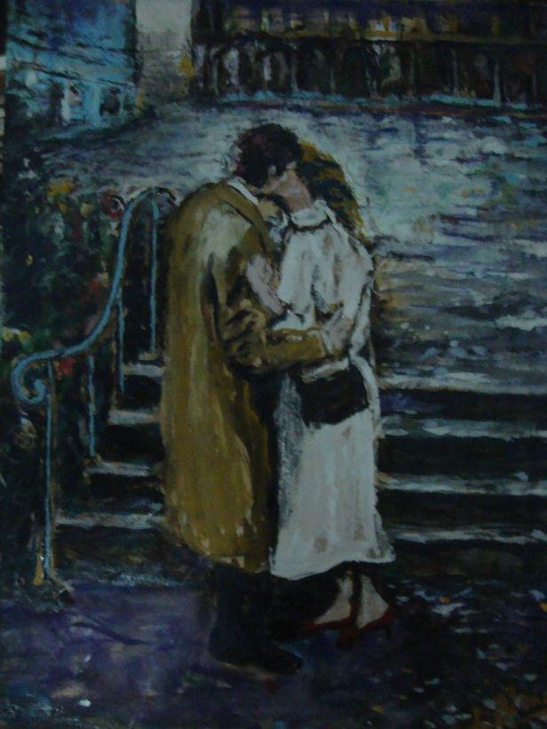 beso despues de la lluvia de jorge blanco