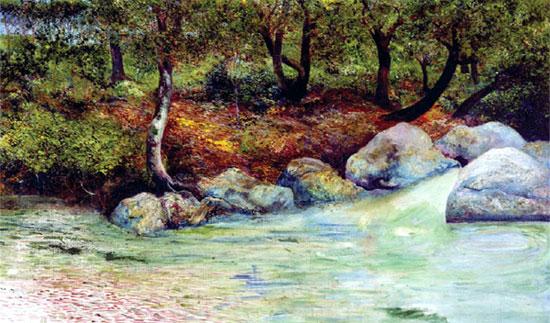 Clausell_Paisaje_con_bosque_y_río