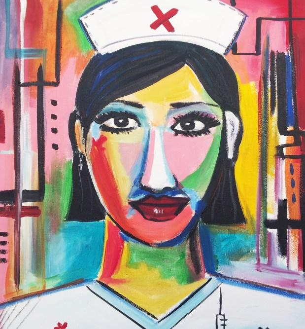 Pintura.-Enfermera.-ARTILANDIA-tienda-virtual-de-arte-y-artesania-3