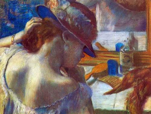 t_Degas - Before the mirror