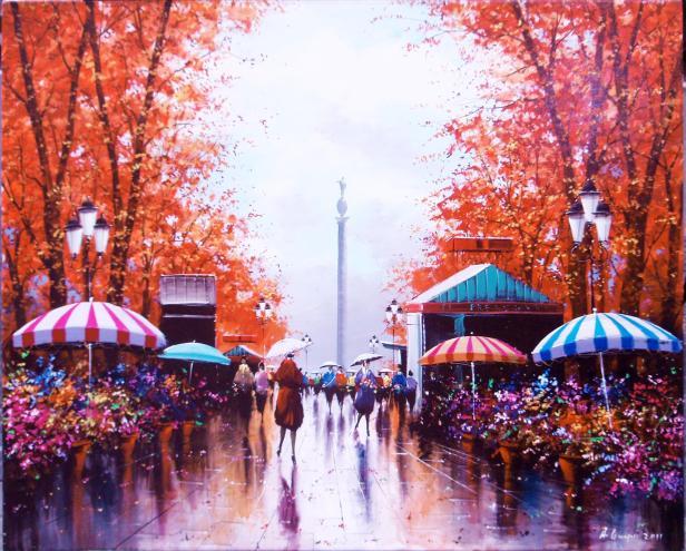 paraguas dos