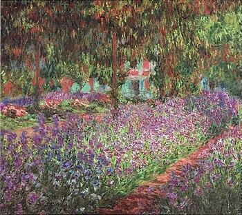 Monet_-_Monets_Garten_in_Giverny