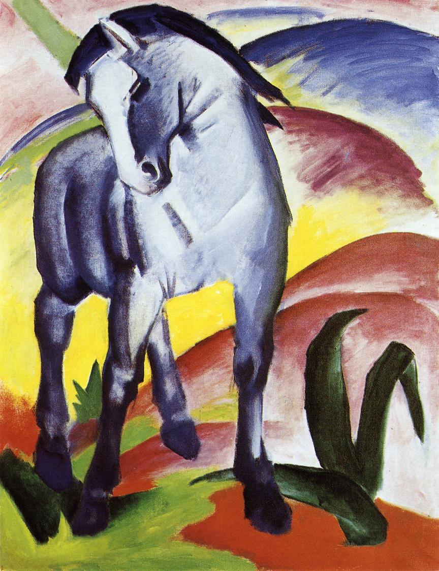 caballo azul kandinski