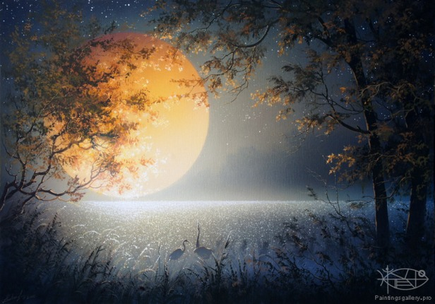 paisajes-con-luna-llena-pintados