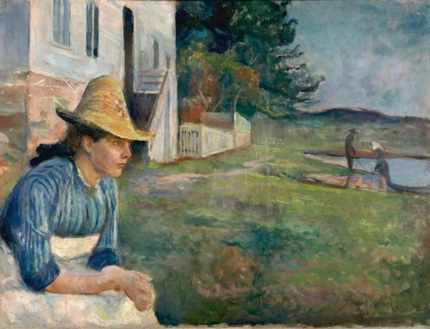 mujer campesina Edvard-Munch-