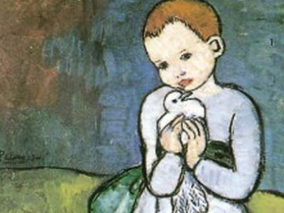 picasso niña con paloma