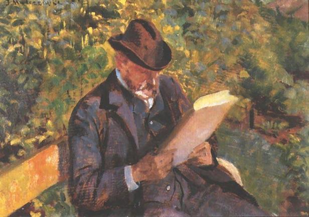 hombre Jacek-Malczewski-Portrait-of-a-Man-Reading