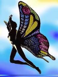 hombre mariposa
