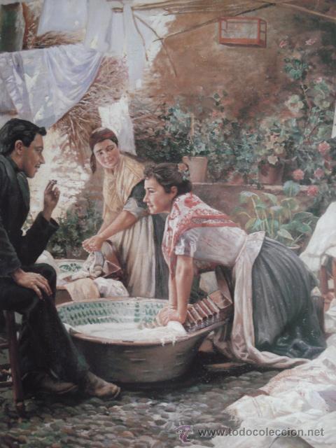 lavanderas Rafel latorre biedma