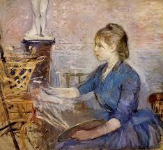 mujer Berthe morisot