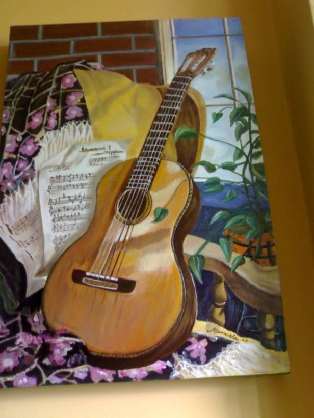 guitarra de manuela ramiro lopez