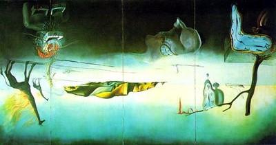003-Salvador Dali - the dream of venus, 1939