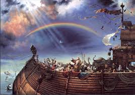 arca de Noé arco iris