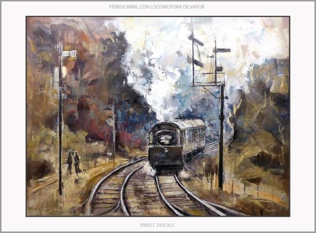 tren Ernest descals
