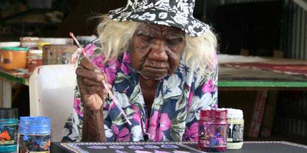 abuela pintora