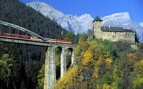 tren y puente