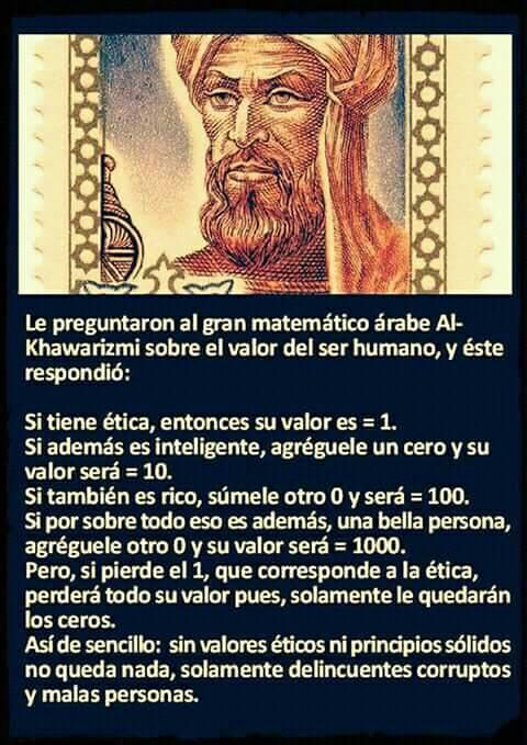 Arabe matemático.