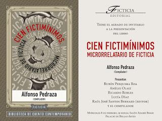 Presentación del Libro Cien Fictimínimos – Ficción Mínima