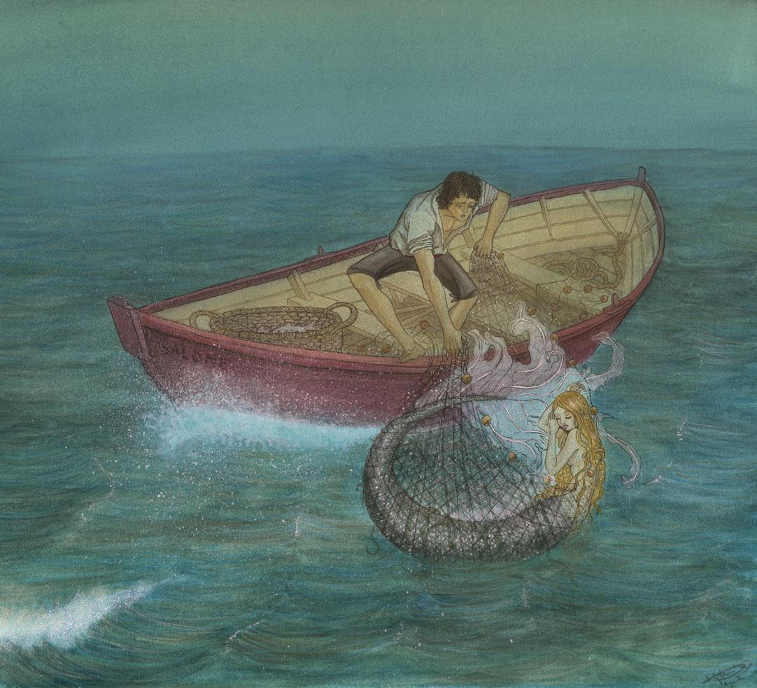 """El Pescador y Su Alma"""" (Parte I). – Páginas Sueltas y de Colores"""