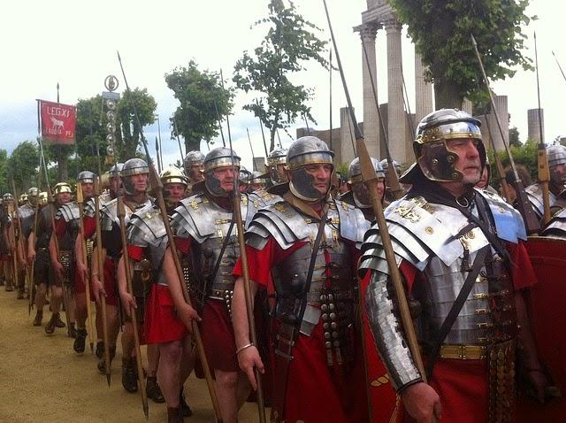 Imagenes Sin Copyright: Fotografía de legionarios romanos