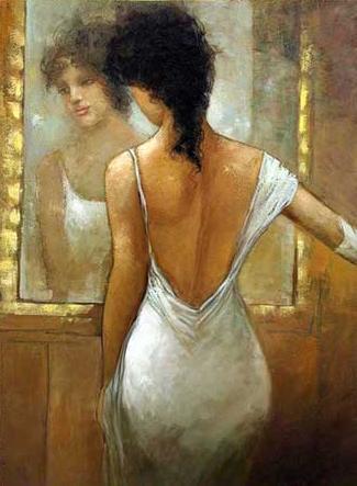 Frases Citas y Pensamientos: La Mujer Del Espejo ( Un Reflejo de Tí )